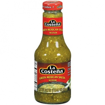 La Costena Green Mexican Salsa 475g Medium MEXICAN