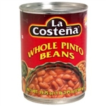 La Costena Whole Pinto Beans 560g MEXICAN