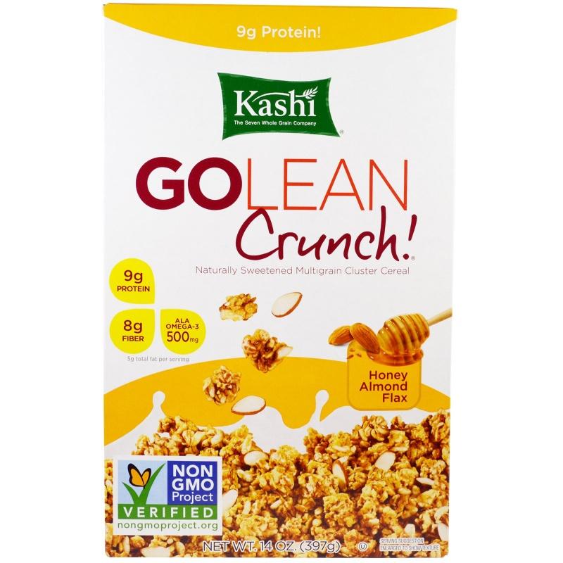 Kashi, Go Lean Crunch! Honey Almond Flax, 14 oz (397 g)