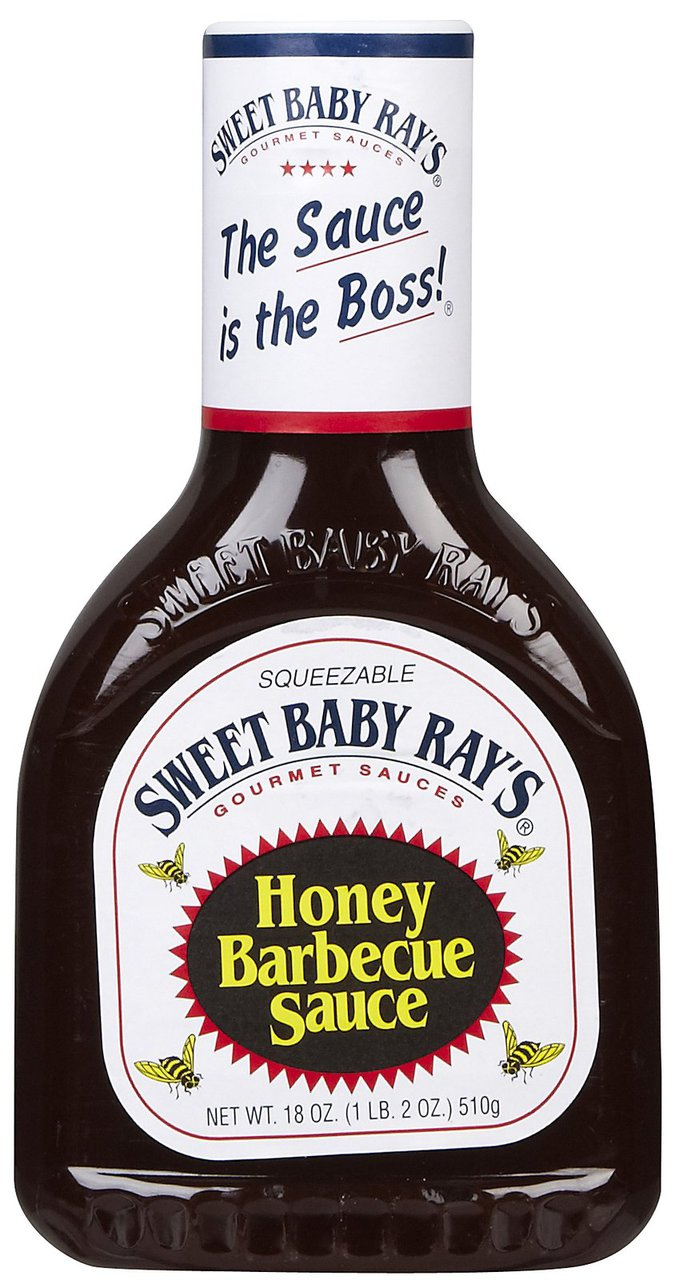 Sweet Baby Ray S Honey Barbecue Sauce 510g 18oz Bbq