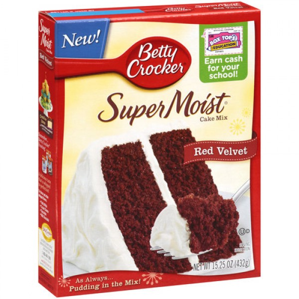 Ingredients In Betty Crocker Super Moist Yellow Cake Mix