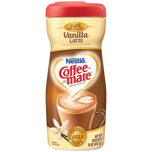 Coffee Mate Powder Creamer Vanilla Latte Powder Coffee Creamer 425g