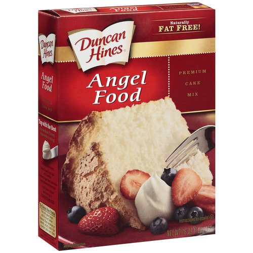 Duncine Hines Anglefood Cake
