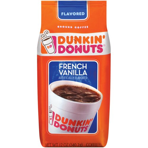 Dunkin Donuts French Vanilla Coffee 340g 12 Oz