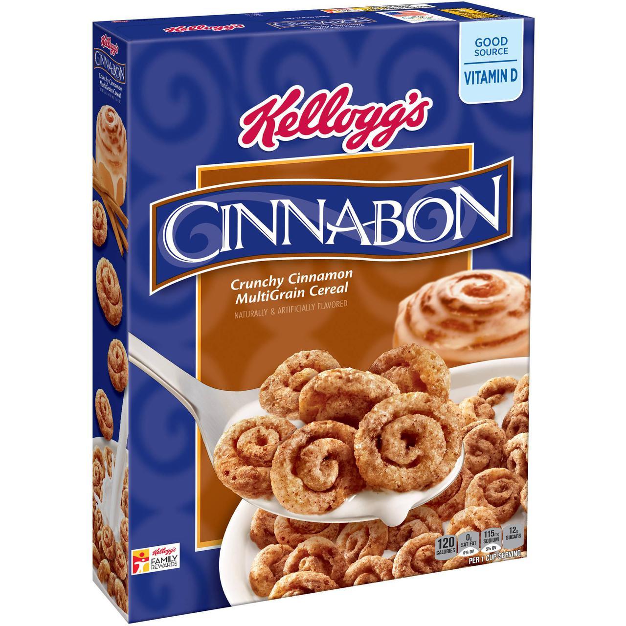 Kelloggs Cinnabon Cereal Cereal (9oz) 255g