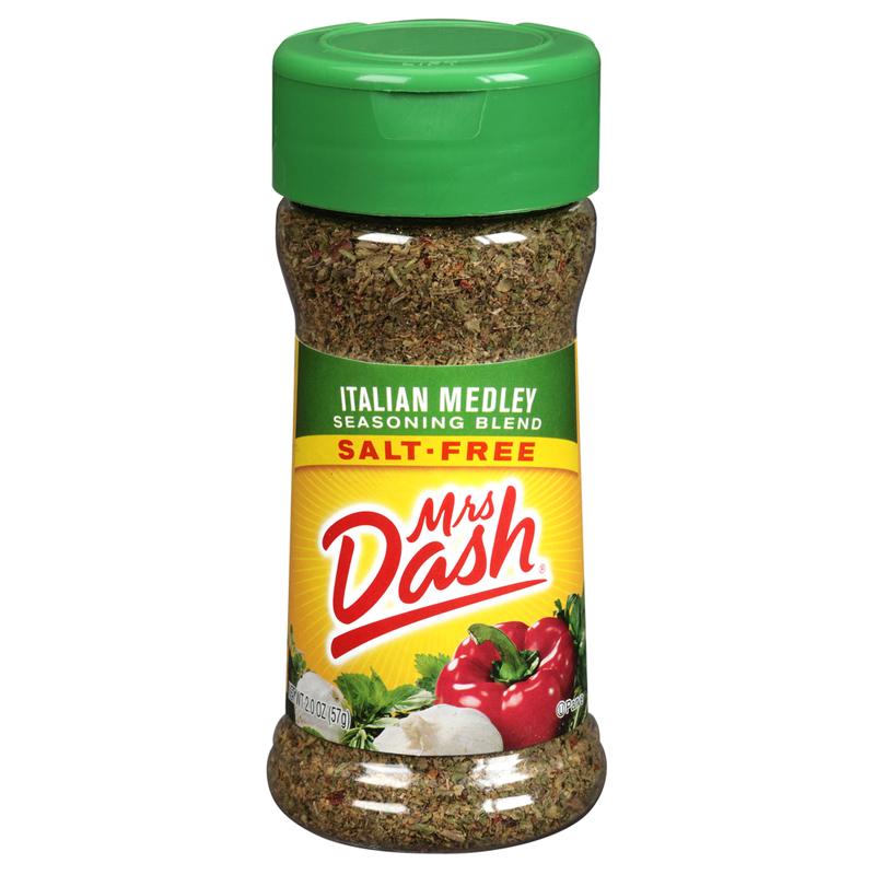 Mrs Dash Italian Medley Seasoning Blend 57g (2oz) Salt Free