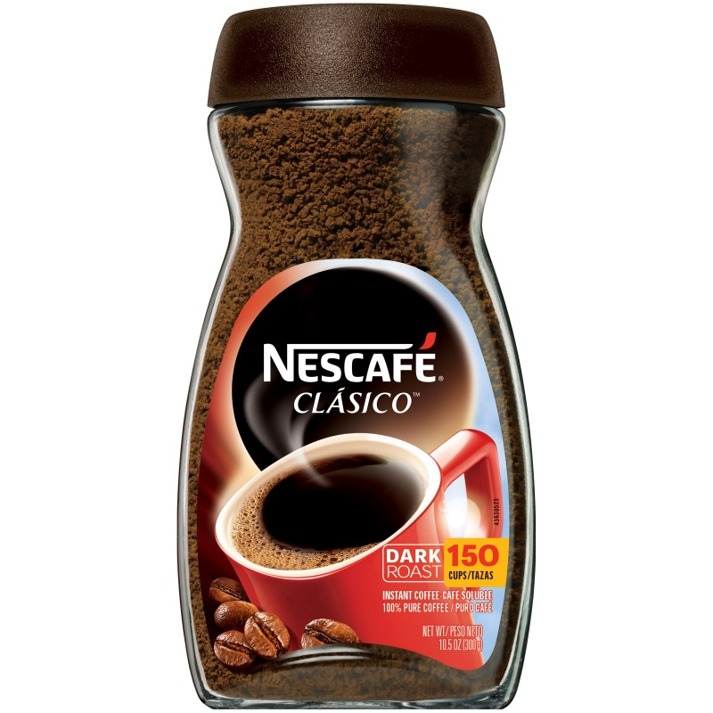 NESCAFE CLASICO Instant Coffee 10.5 oz. Jar - American ...