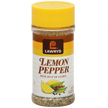 Lawry's Lemon Pepper (4.5oz) 127g Lawrys