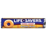 Life Savers Butter Rum American Candy 1.14oz 32g Lifesavers.