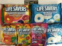 6 x Variety Pack of LIFE SAVERS HARD CANDY & GUMMIES