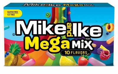 Mike and Ike Mega Mix  - 10 flavours - 2 Pack
