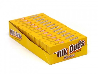 Hersheys Milk Duds 5oz 141g Box - Case Buy 12