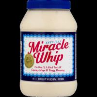 Kraft Miracle Whip, 30 oz Jar 887ml