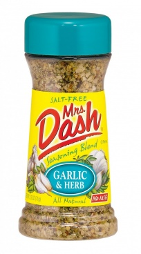 Mrs Dash Garlic & Herb Seasoning Blend 71g (2.5oz) Salt Free