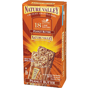 Nature Valley Peanut Butter Crunchy Granola Bars Case Buy 18 x 2 bars Packs