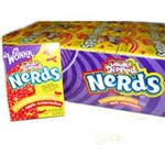 Wonka Nerds Lemonade Wild Cherry & Apple Watermelon 46.7g- Case Buy