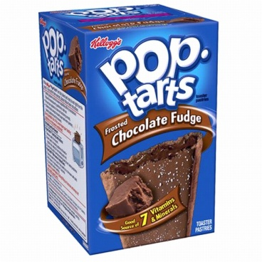 Pop-Tarts Frosted Chocolate Fudge Pop Tarts 384g