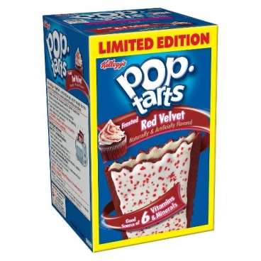 Pop-Tarts Frosted Red Velvet Pop Tarts