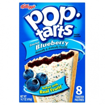 Pop-Tarts Frosted Blueberry toaster 416g Pop Tarts