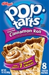 Kellogg's Pop-Tarts Frosted Cinnamon Roll toaster pastries 416g Pop Tarts