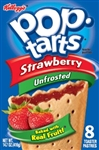 Pop-Tarts  Unfrosted Strawberry toaster pastries 416g Pop Tarts