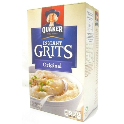 Quaker Instant Grits  340g -The 0riginal. CASE BUY OF 12