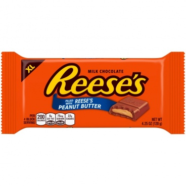 Reese's Reeses Peanut Butter  X-Large Milk Chocolate Bar 4.25oz 120g