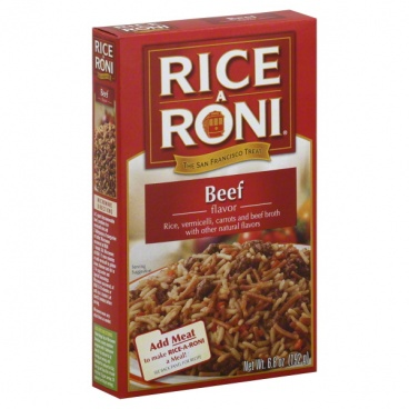 Rice A Roni Beef flavour (6.8oz) 192g