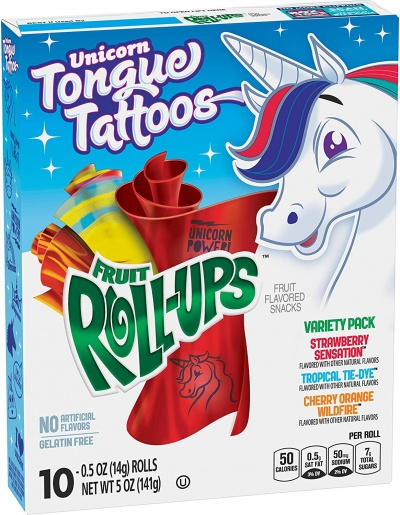 Fruit Roll-Ups Variety Pack 141g 5oz (2 PACKS)