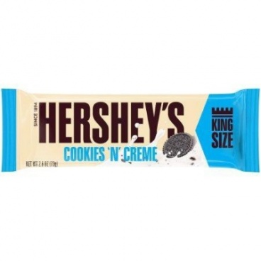Hershey's Cookies 'n' Creme King Size Bar 2.6oz (73g)