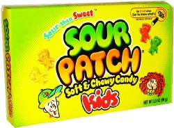 Sour Patch Kids Berries 3.1oz (88g) - CASE BUY OF 12 Packs