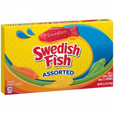 Swedish fish assorted 99g american food store for Assorted swedish fish