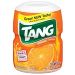 Tang Orange Drink Mix MAKES 6 QUARTS 566g - 20oz  Case Buy 12 Tubs