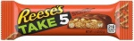 Reese's TAKE 5 Peanut Butter Milk Chocolate Candy Bar 42g (Pack of 6)