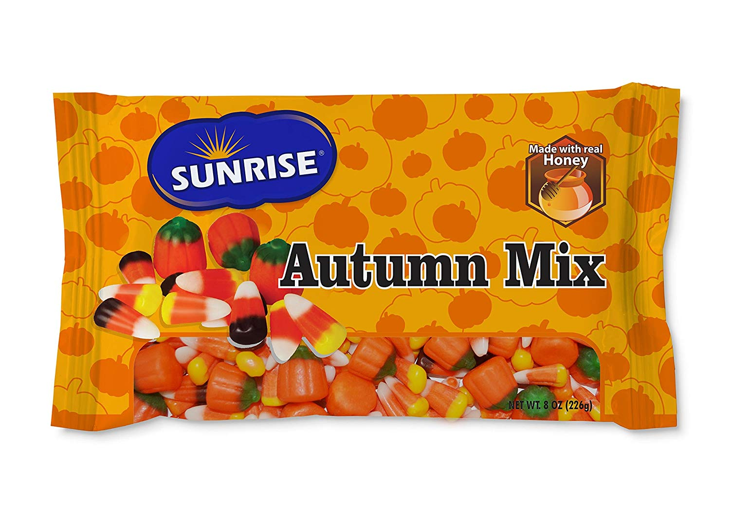 2 x sunrise autumn mix candy corn