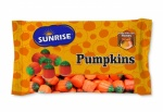 Sunrise Halloween Pumpkins Candy 8oz 226g Bag