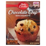 Betty Crocker Chocolate Chip Muffin & Quick Bread  Mix.(418g) BOX