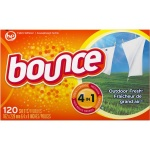 Bounce Outdoor Fresh Fabric Softener Dryer Sheets, 120 count