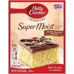 Betty Crocker Super Moist Butter Recipe Yellow Cake Mix 15.25oz 432g