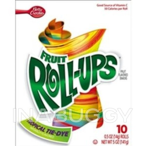 Fruit Roll Ups Tropical Tie Dye