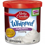 Betty Crocker Whipped Fluffy WHITE 340g Frosting