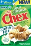 General Mills Chex Cereal - Apple Cinnamon 389g 13.75oz Gluten Free Cereal