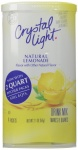 Crystal Light Natural Lemonade makes 8 Quarts