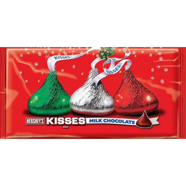 Hershey's Holiday Milk Chocolate Kisses  11.0 oz ( 311g) Hersheys