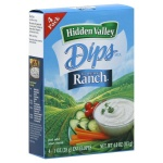 Hidden Valley Ranch Dressing Dip Mix (4 Envelopes  28g)  Total 113g The Original Ranch