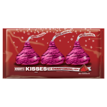 Hershey's Holiday Kisses Milk Chocolate Filled with Cherry Cordial Creme,10 oz (283g)Hersheys
