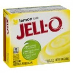 Jell-o Jello Instant Lemon Pudding & Pie Filling, 3.4oz 96g (2 packs)