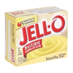 Jell-O Vanilla Instant Pudding and Pie Filling 96g Jello Jello O