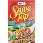 Kraft Stove Top Savory Herbs Stuffing Mix 170g 12 PACK American