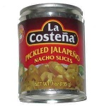 La Costena Pickled Jalapeno Nacho Slices (210g) MEXICAN